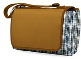 Picnic Time Blanket Tote - Brown