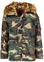 Alpha Industries Winter Coat Green