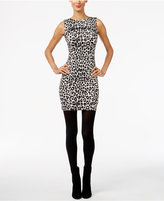 MICHAEL Michael Kors Cheetah-Print Sheath Dress