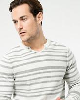 Le Château Stripe Cotton Sweater