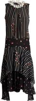 Preen Line Elise lace-collar sleeveless dress