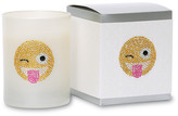 Primal Elements Face with Stuck Out Tongue and Winking Eye Emoji Icon Candle