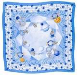 Cartier Silk Jewel Print Scarf