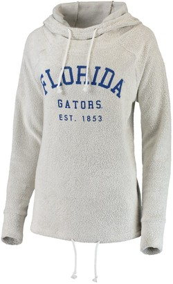 Women's chicka-d Cream Florida Gators Looped French Cowl Hoodie