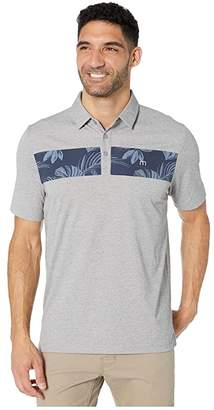 Travis Mathew TravisMathew Everything Is Kewl Polo (Heather Grey) Men's Clothing