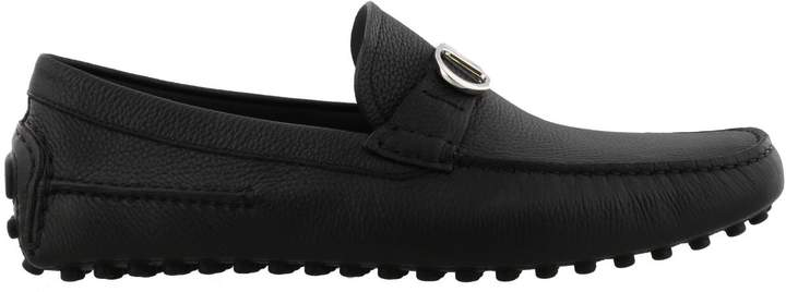 Christian Dior Leather Loafers