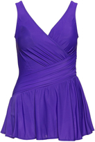 Miraclesuit Plus Size Aurora skirted swimsuit