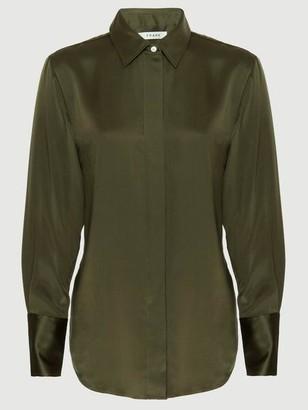 Frame Washable Silk Perfect Shirt