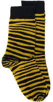 Stella McCartney tiger stripe socks
