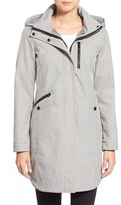 Kristen Blake Women's Crossdye Hooded Soft Shell Jacket (Regular & Petite)