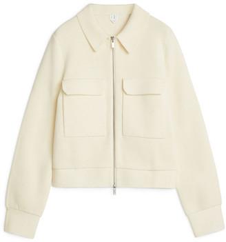 Arket Merino Boxy Jacket