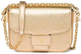 Prada Mini Metallic Shoulder Bag