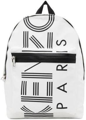 Kenzo White Crew Rucksack Backpack