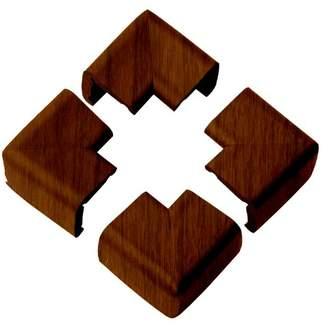 Clevamama Wood Finish Corner Cushion Pads