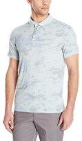 Calvin Klein Jeans Men's Camo Slub Polo Shirt