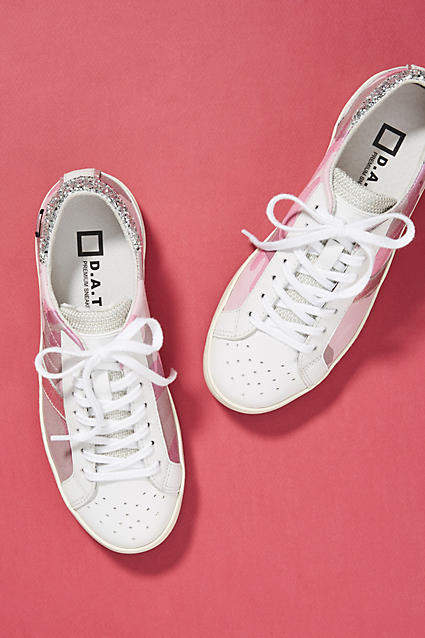 D.A.T.E Camo Sneakers