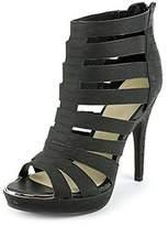 Bar III Ellie Open-toe Synthetic Heels.