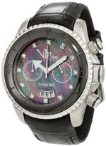 Magnum Vip Time Italy Women's VP8008BK Lady Sporty Chronograph Watch