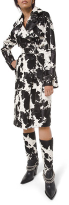 Michael Kors Collection Calf Trench Coat