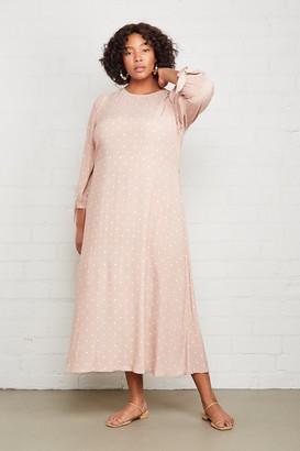 Warehouse Crepe Tati Dress - Plus Size