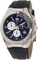 Technomarine Men's 110002L Cruise Steel Leather Strap Watch
