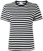 RE/DONE stripe print short sleeve t-shirt