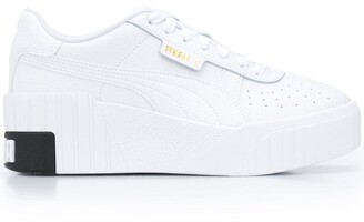 Puma Cali Wedge lace-up sneakers