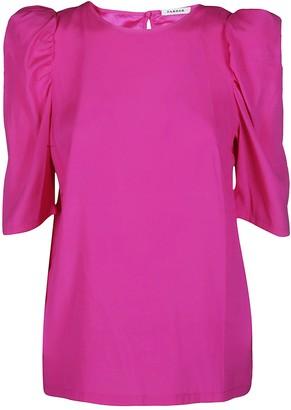 P.A.R.O.S.H. Pink Silk Blouse
