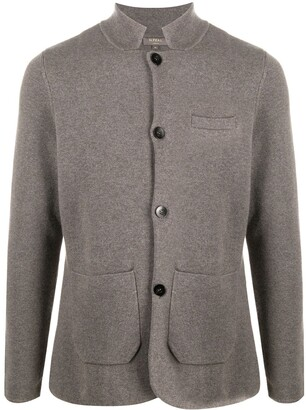 N.Peal Cashmere Knit Shirt Jacket