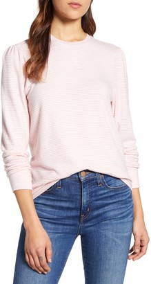 Lucky Brand Cloud Jersey Femme Striped Sweater