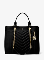 MICHAEL Michael Kors Susan Extra-Large Quilted Leather Convertible Tote Bag