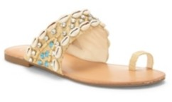 Jessica Simpson Abira Toe Thong Flat Sandals Women's Shoes