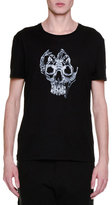 Alexander McQueen X-Ray Skull Graphic T-Shirt, Black