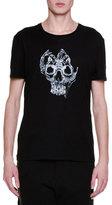 Alexander McQueen X-Ray Skull Graphic T-Shirt, Black