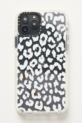 Casetify White Leopard iPhone Case By in White Size L