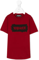 DSQUARED2 logo print T-shirt - kids - Cotton - 4 yrs