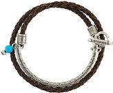 Andrea D'Amico bead detail interlaced bracelet