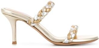 Gianvito Rossi 80mm Metallic Sandals