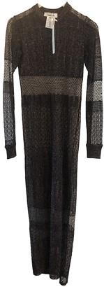 Circus Hotel Black Viscose Dresses
