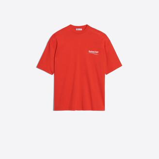 Balenciaga Oversized logo printed T-shirt