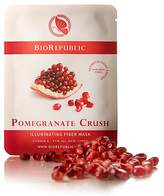 BioRepublic Pomegranate Crush Illuminating Fiber Sheet Mask, 1 Mask