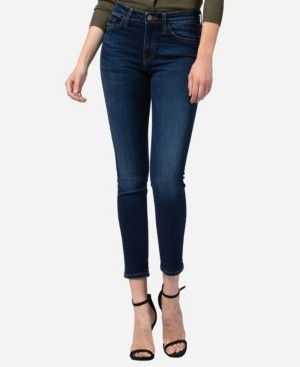 Flying Monkey Mid Rise Skinny Jeans