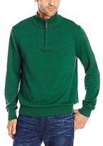 Nautica Men's Solid 1/4 Zip Sweater