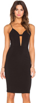 Krisa Deep V Cami Dress