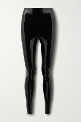 Commando Faux Patent-leather Leggings