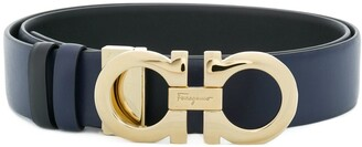 Salvatore Ferragamo Double Gancini bit belt