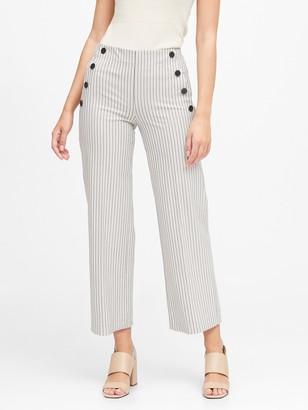 Banana Republic Slim Wide-Leg Cropped Sailor Pant