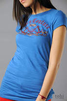 Juicy Couture Rope Crest Logo T-shirt