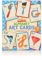 Eeboo HARDWARE ALPHABET ART CARDS