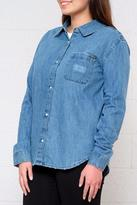 Element Distressed Denim Shirt